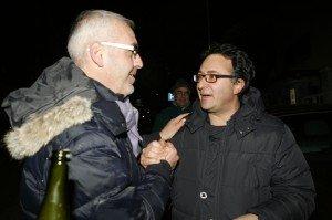 Bianchini con Romano Carancini
