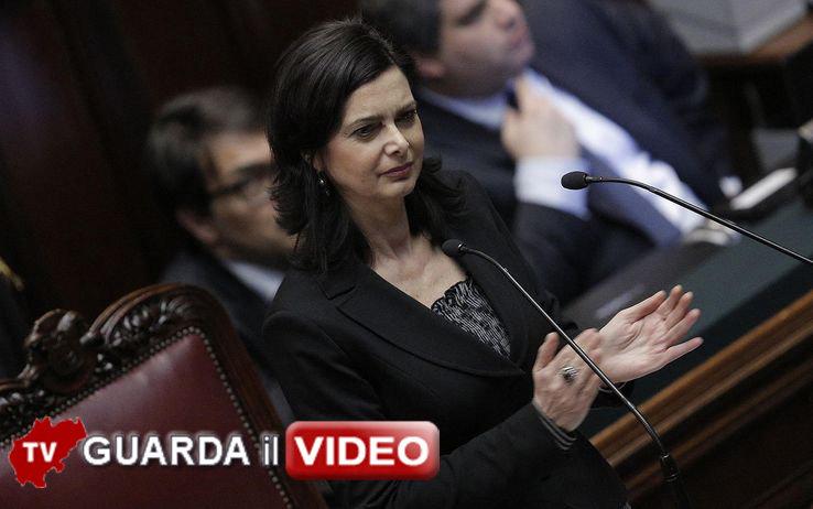 Discorso Camera Boldrini : Lappello di laura boldrini u201cadesso ci facciano lavorareu201d cronache