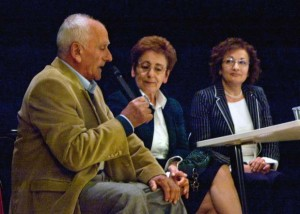 Da sn Sebastiano Gubinelli, Giuliana Forotti, Enrica Mattioni