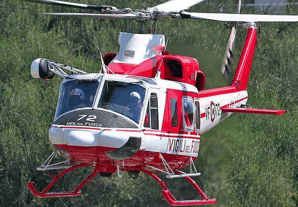 Elicottero 412 : Commerciante scomparso ricerche con l elicottero