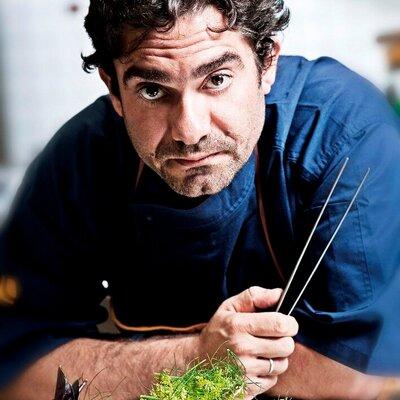 Lo chef del ristorante Le Case Michele Biagiola