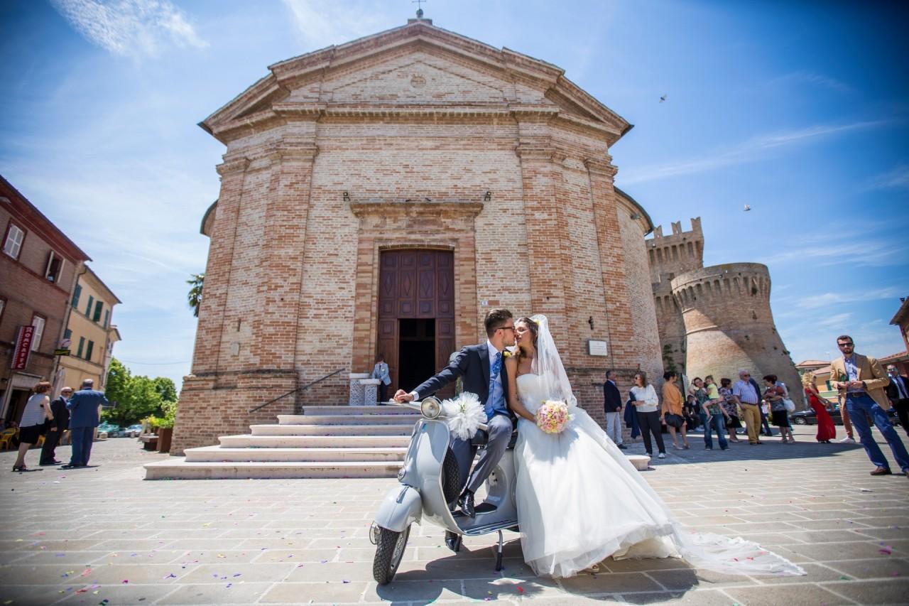 Fiori d'arancio per Alessia e Matteo Nozze maceratesi a ...