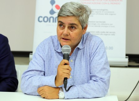 La presidente della Maceratese Maria Francesca Tardella