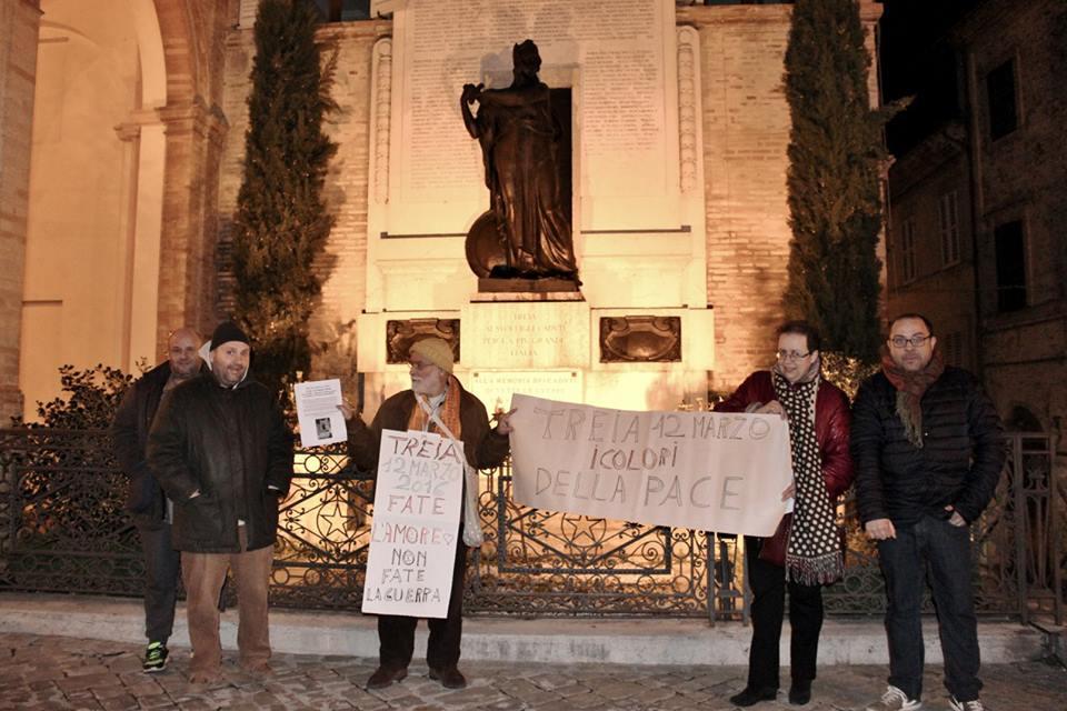 Risultati immagini per 4 novembre paolo d'arpini monumento ai caduti di treia