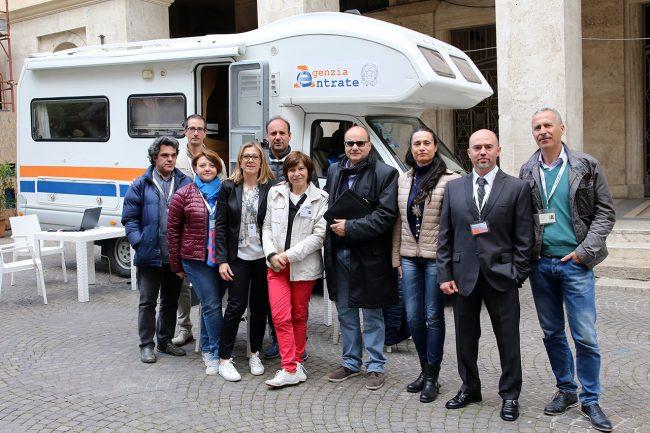 La dichiarazione dei redditi in camper cronache maceratesi for Agenzia entrate dichiarazione precompilata