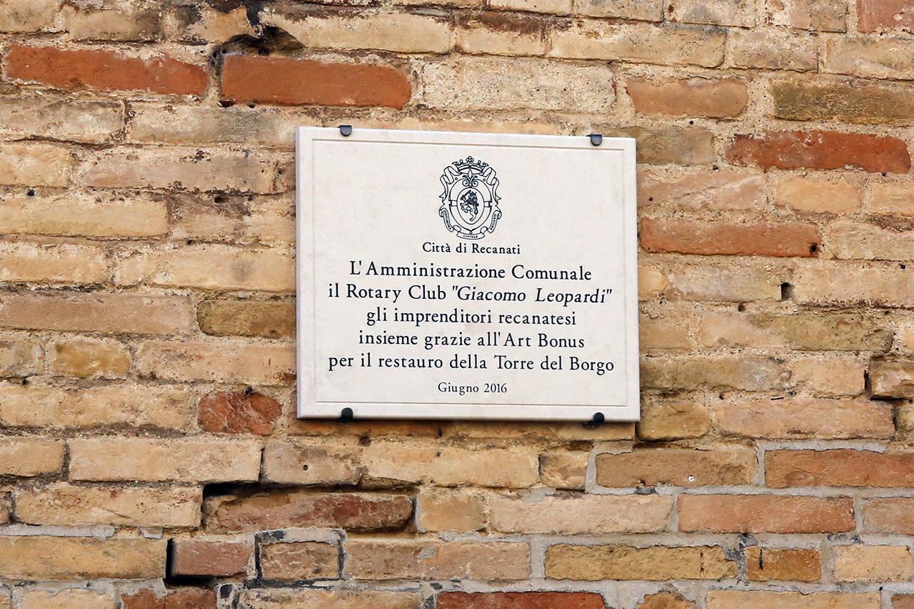 inaugurazione torre civica recanati franceschini fiordomo_Foto LB (1)