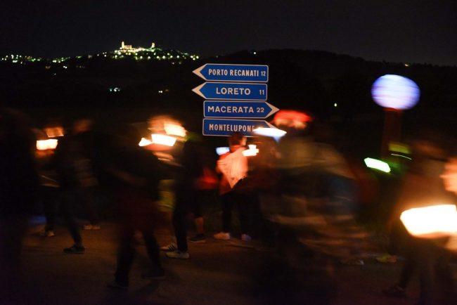 pellegrinaggio 2016 - notte chiarino - loreto - FDM (9)