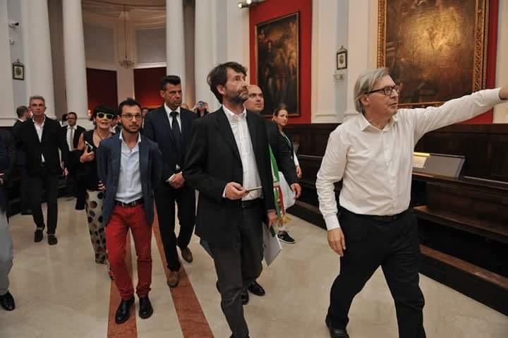 Capolavori salvati dal sisma franceschini a camerino for Le stanze segrete di sgarbi