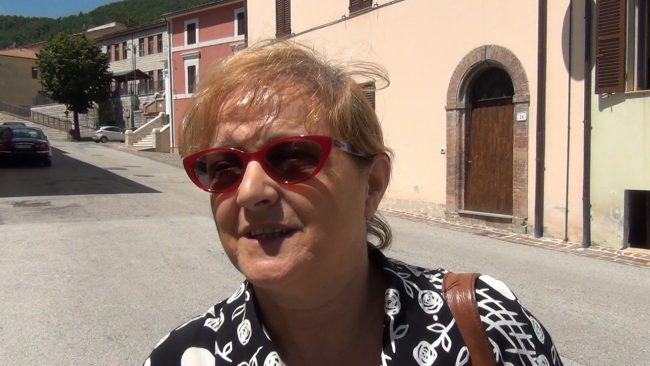 Maria Palmieri, residente a Serravalle
