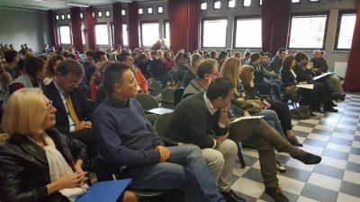 Il pubblico all'incontro sull'orientamento