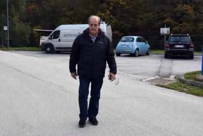 Mauro Falcucci dopo l'assemblea
