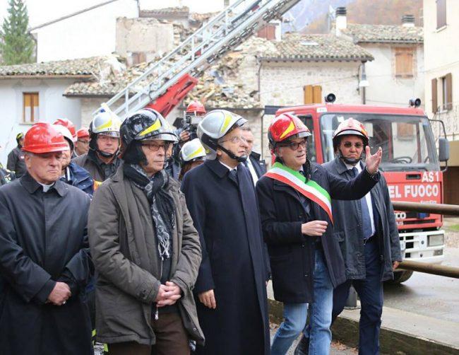 Terremoto, Mattarella:
