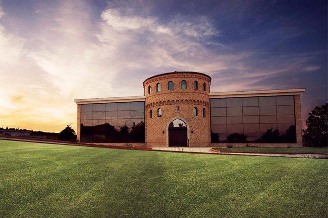 Il castello Màlleus a Recanati