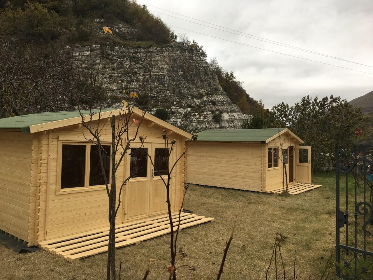 case in legno su ruote su terreno agricolo case in legno