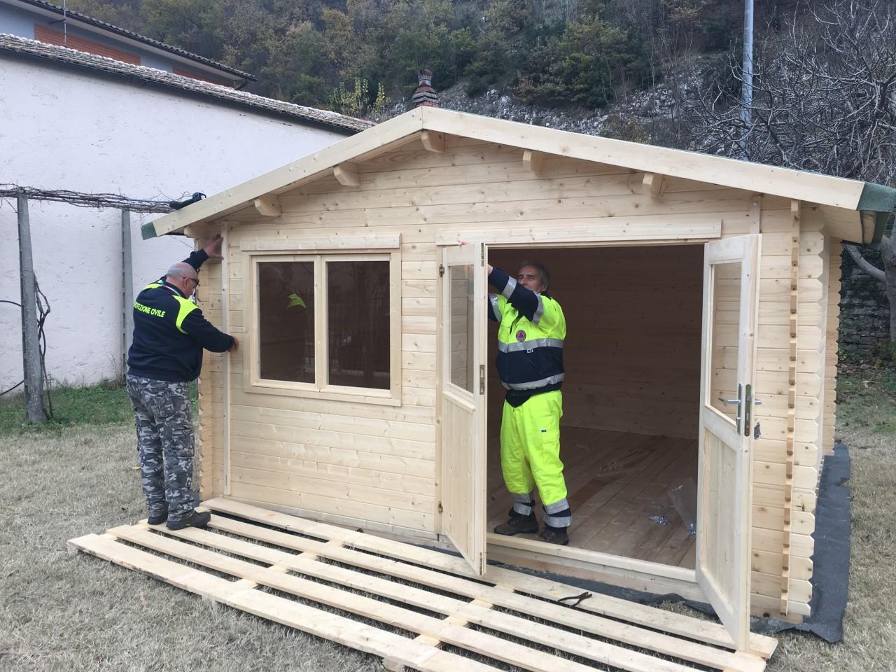 Far west casette di legno sui terreni privati solo 90 - Costruire casa di legno ...