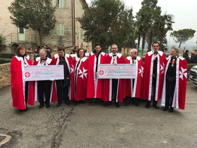 I cavalieri aiutano i terremotati donati 36mila euro e for Risparmio casa corridonia