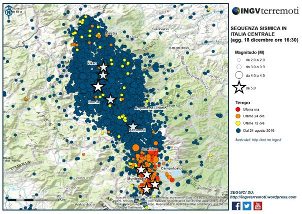 La terra trema ancora, magnitudo 5.1