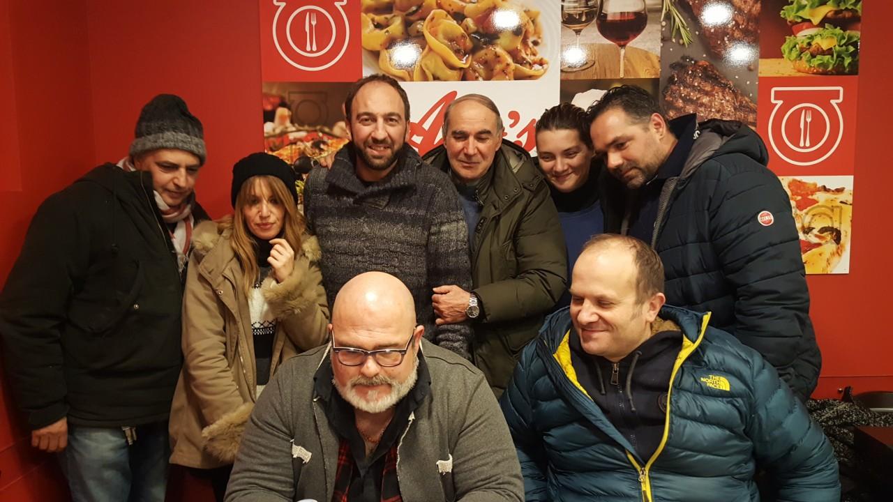 Sisma il comico lo cascio a roma il 2 febbraio per i for Lo cascio arredamenti roma