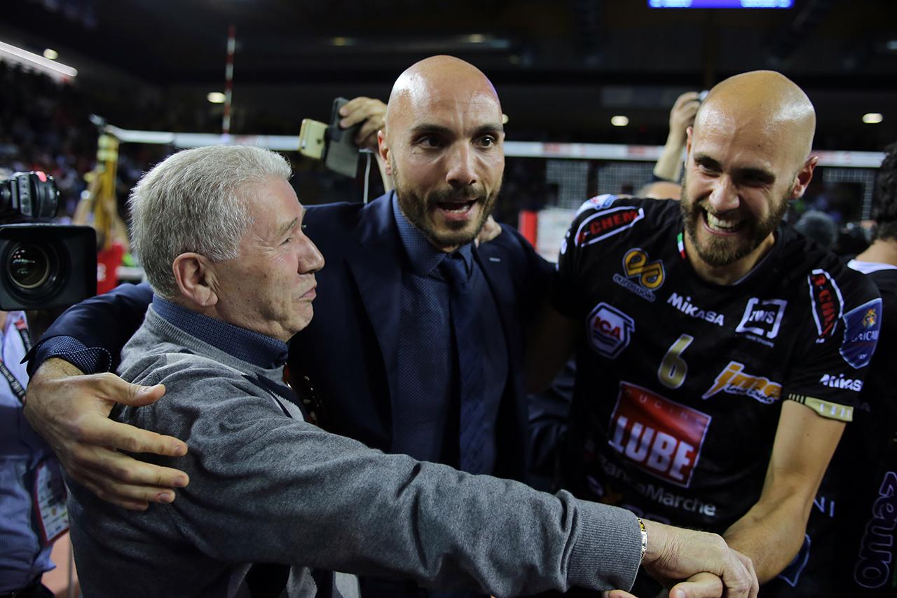 Luciano Sileoni_vittoria scudetto Lube 2017_foto LB (1)