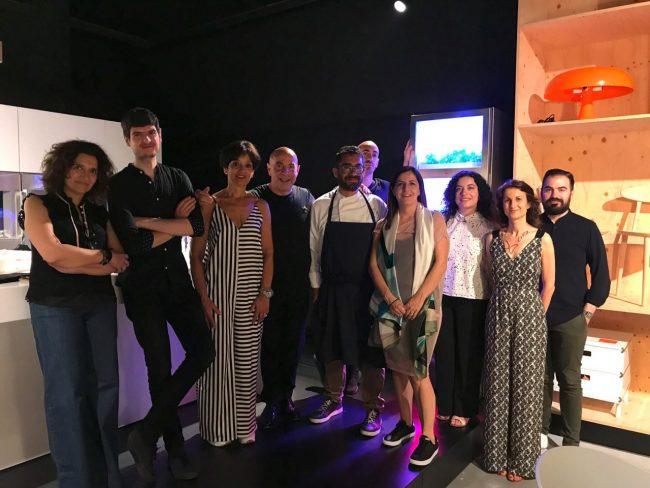 Design e alta cucina con lo chef michele biagiola for Eusebi arredamenti