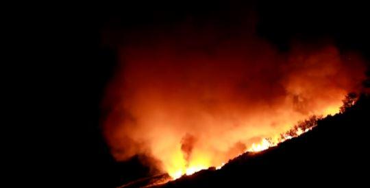 Incendio sul san bartolo 70 evacuati cronache maceratesi for Risparmio casa corridonia
