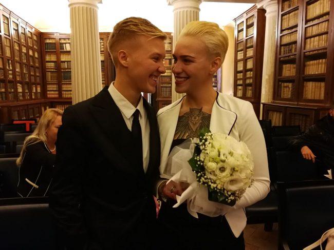 Matrimonio Unione Civile Differenza : Giulia e ortencia oggi spose prima unione civile a