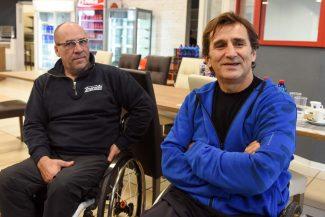 Alex Zanardi a Civitanova, il sogno:  Una bici per disabili a costi ridotti?