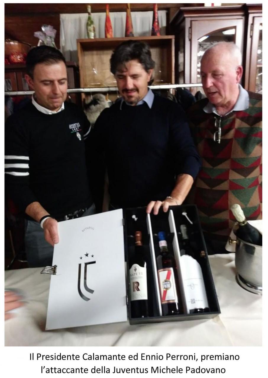 Auguri Di Buon Natale Juve.Juventus Club Treia Cena Con Michele Padovano Cronache Maceratesi
