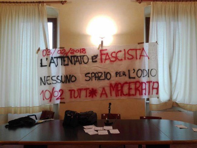 Da italiano mi vergogno per la manifestazione di Macerata