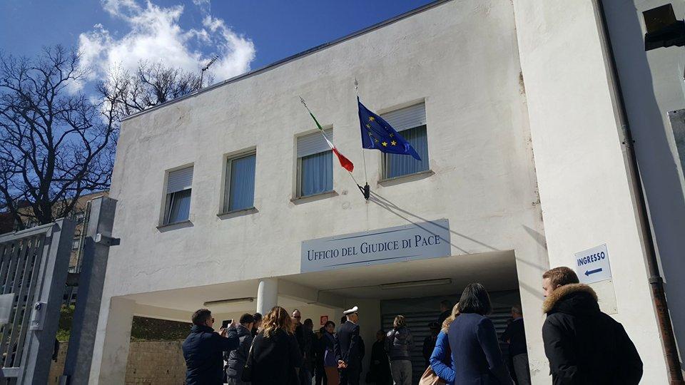 Nuovo Ufficio Giudice Di Pace : Inaugurata la nuova sede del giudice di pace foto cronache