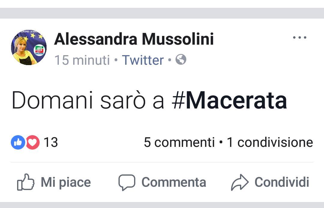 Fantoccio del Duce, Mussolini: