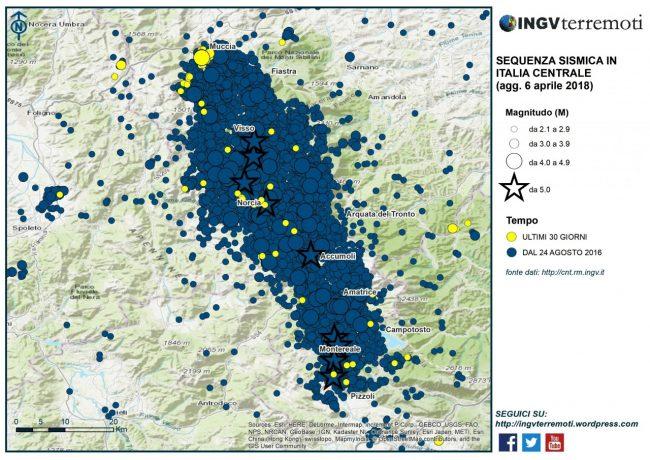 Terremoto nelle Marche, la terra continua a tremare: 3.9 a Macerata