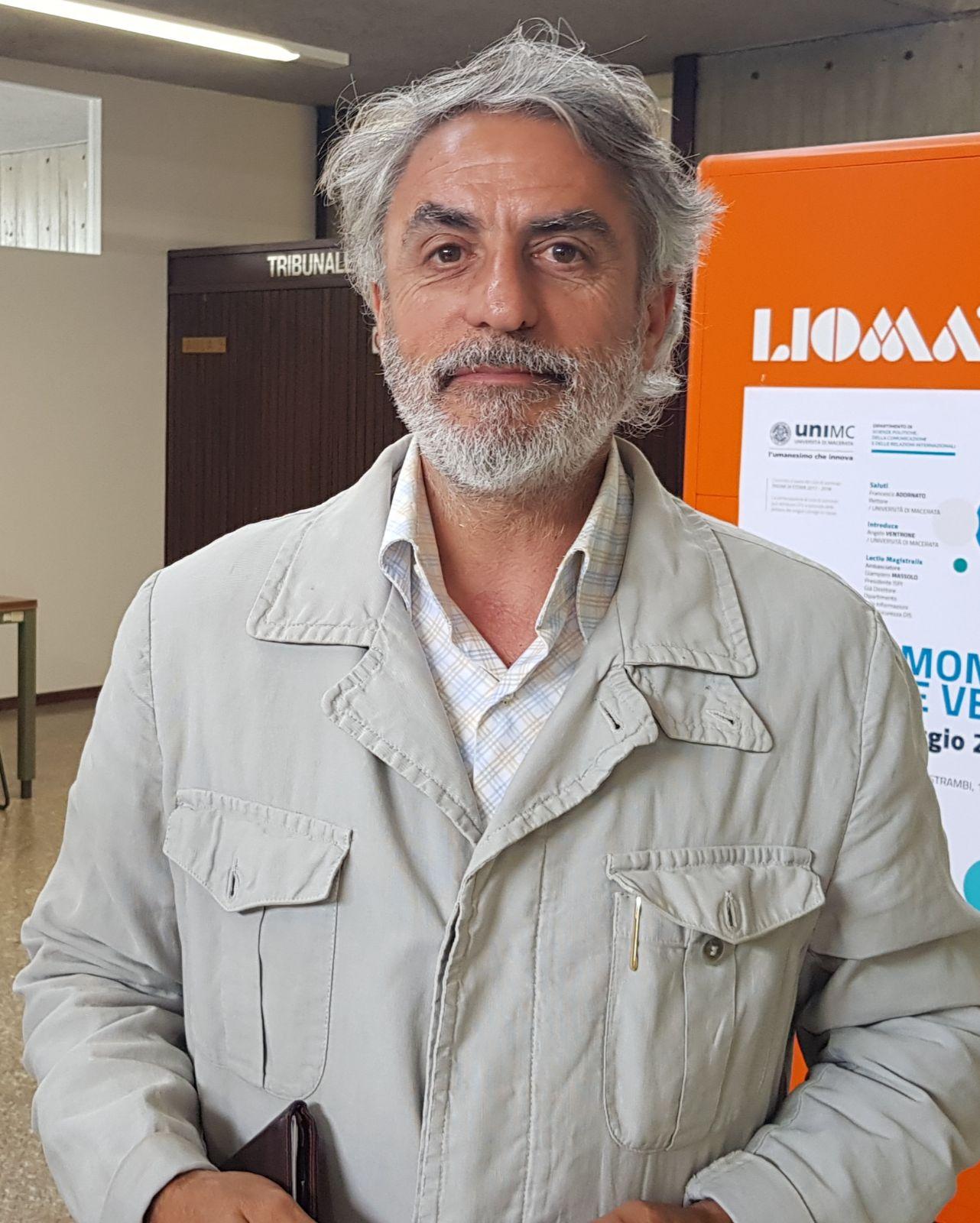 L'avvocato Gianfranco Borgani che assiste Desmond Lucky