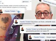 """<span> """"Baldracche"""", """"cessi"""", """"checche""""  </span><br>  Troiani su Facebook ne ha per tutti  <br> Altro che «leggerezza»"""