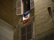 Bandiera francese sulla finestra del sindaco <br> Sacchi: «Carancini tifoso a fini politici» <br> Coltorti: «Atto illegittimo, va tolta»