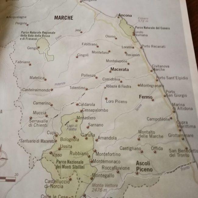 Cartina Stradale Civitanova Marche.Cartina Bell Italia Il Sindaco Di San Ginesio Nessuna Dimenticanza Cronache Maceratesi
