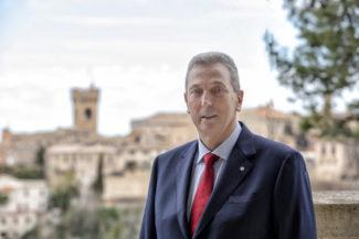 Il sindaco di Recanati, Antonio Bravi