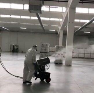 Nitor - nebulizzazione stabilimenti